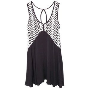 Free People S Zebra Swing Dress Tunic A-line